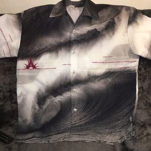 AARON CHANG button shirt